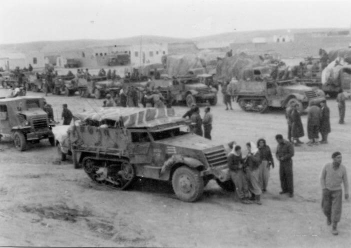 Rassemblement de la brigade Harel juste avant l'opération Horev le 25 décembre 1948