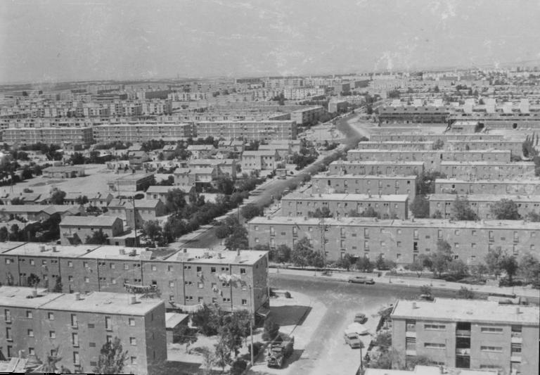 Photographie de Be'er-Sheva dans les années 1960