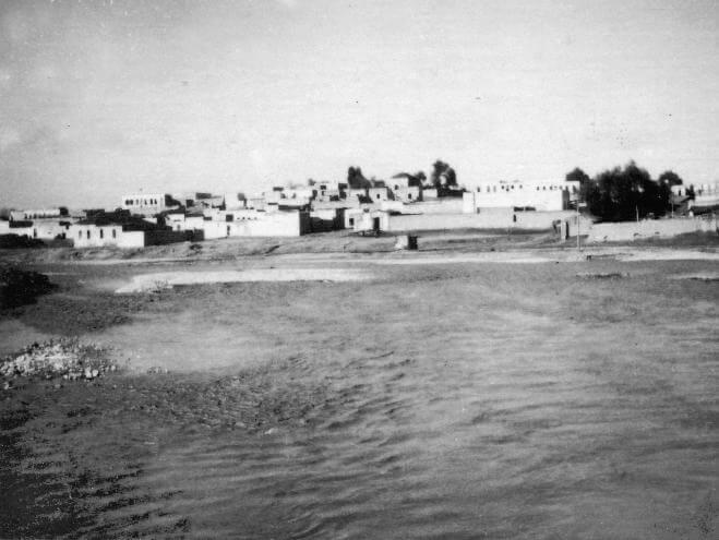La rivière de Be'er-Sheva en 1948