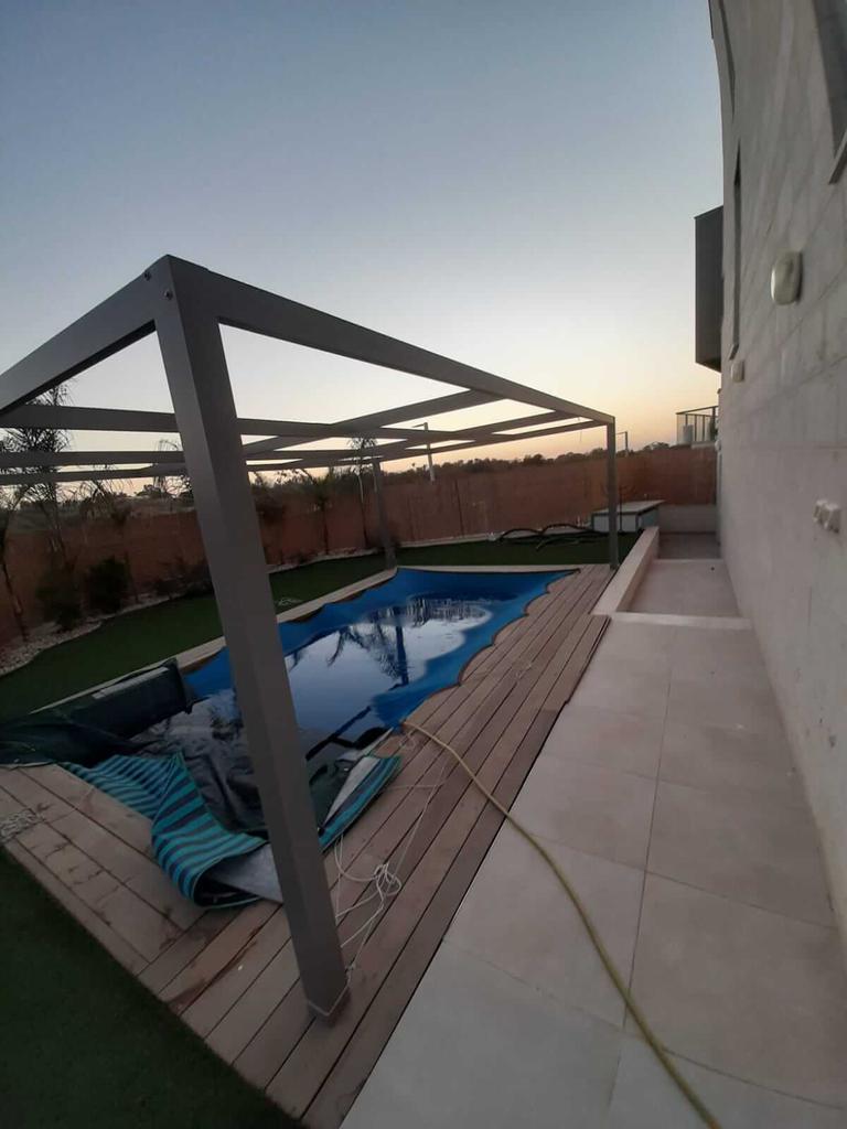 Vue sur la piscine - Neve Noy, Be'er-Sheva, Israël