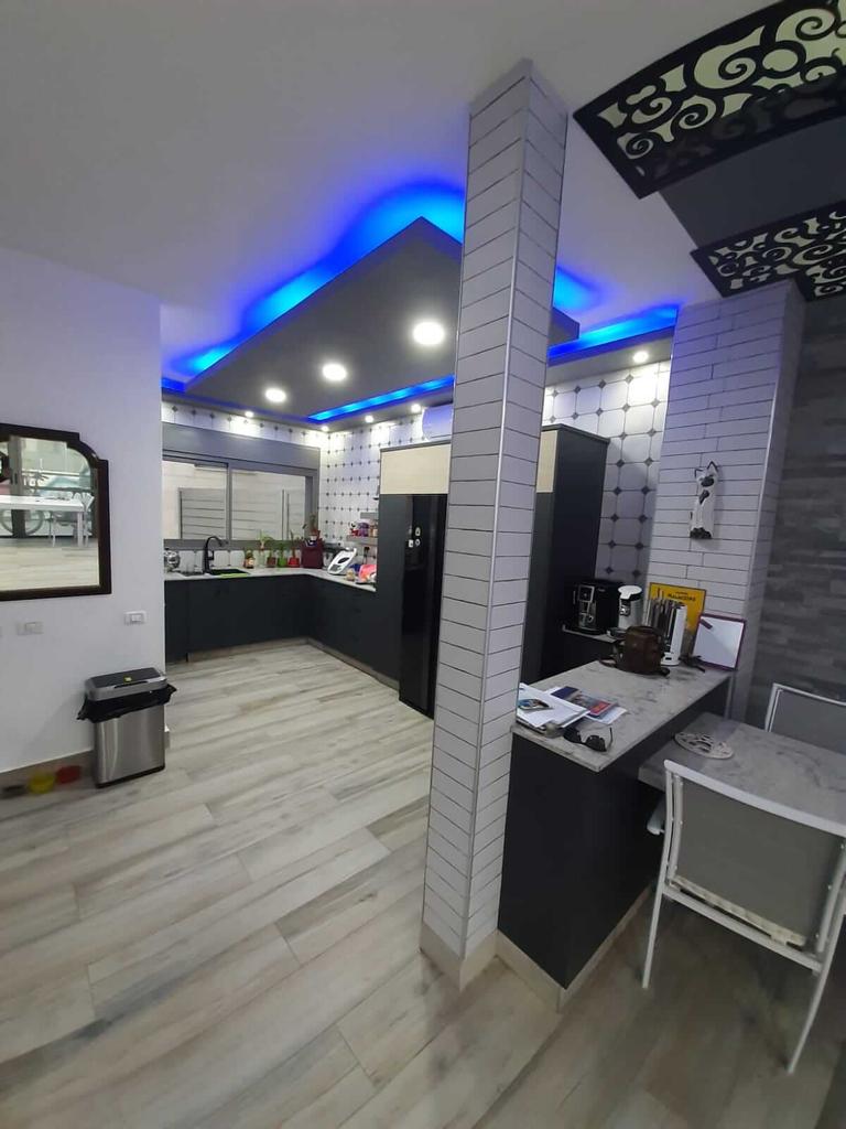 Vue sur la cuisine du salon - Neve Noy, Be'er-Sheva, Israël