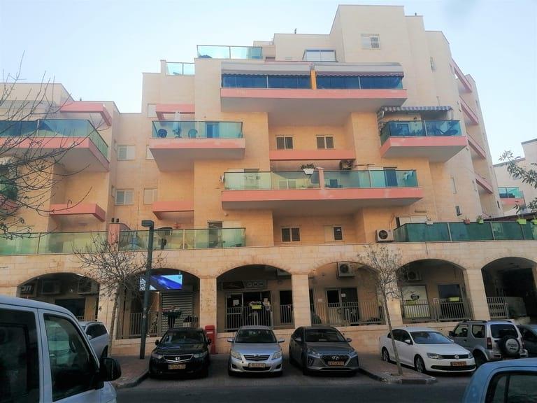 Rue commerciale principale de Ramot Bet (HaRehes) de Be'er-Sheva, Israël