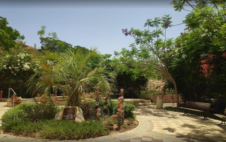 Parc Har Boker situé à Ramot Gimel, Be'er-Sheva, Israël