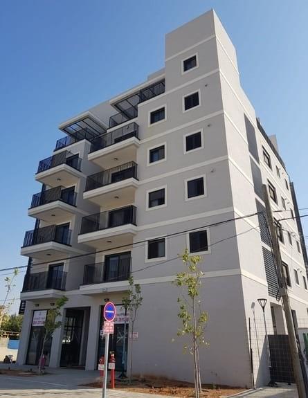Exemple de bâtiment construit en 2018 à Be'er-Sheva